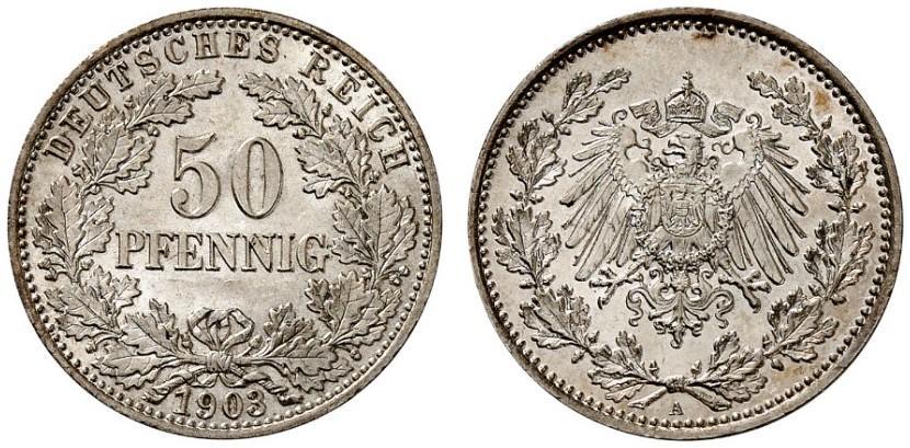 DE 50 Pfennig 1903 A