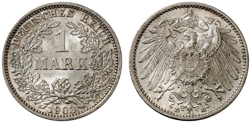 DE 1 Mark 1903 D