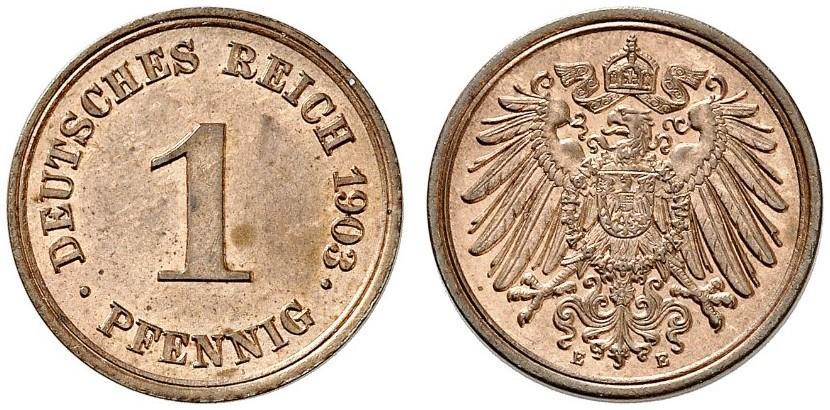 DE 1 Pfennig 1903 E