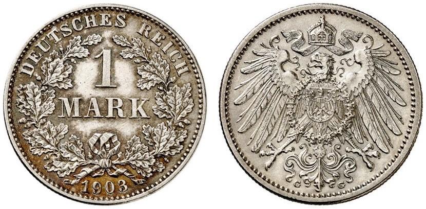 DE 1 Mark 1903 G