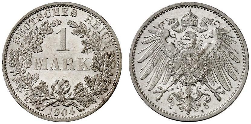 DE 1 Mark 1904 A