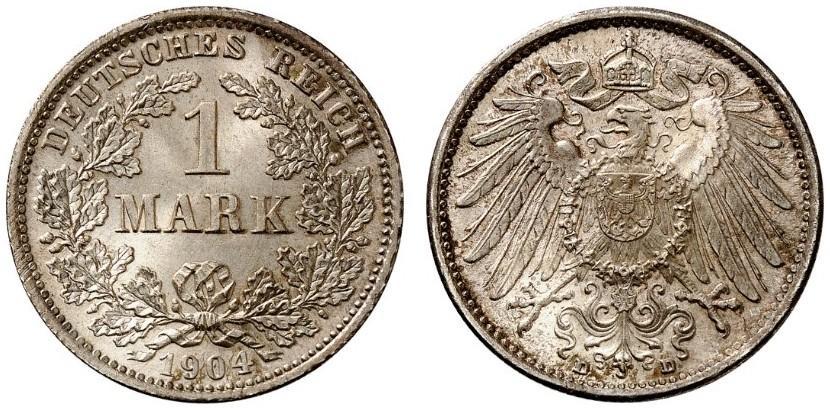 DE 1 Mark 1904 D