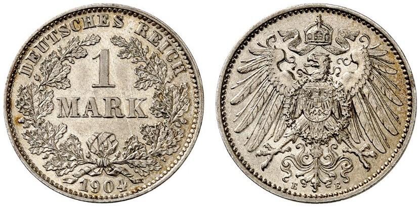 DE 1 Mark 1904 E
