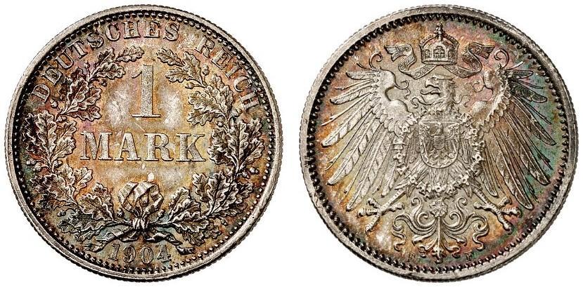 DE 1 Mark 1904 F