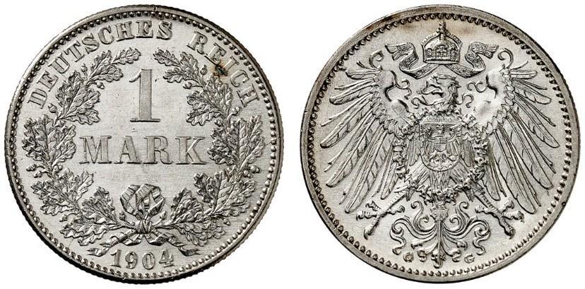 DE 1 Mark 1904 G