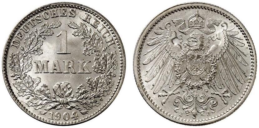 DE 1 Mark 1904 J