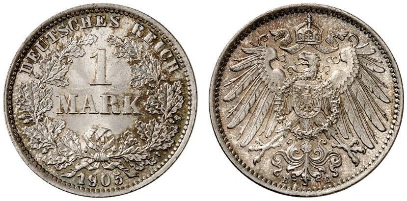 DE 1 Mark 1905 E