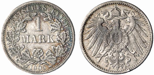 DE 1 Mark 1905 F