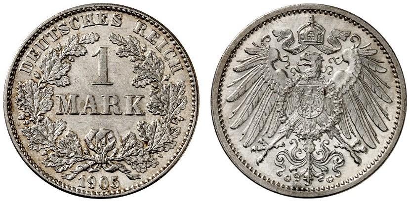 DE 1 Mark 1905 G