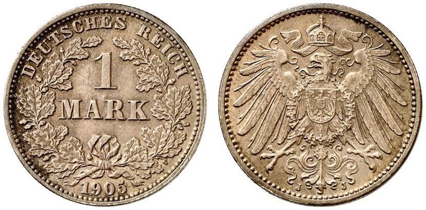 DE 1 Mark 1905 J