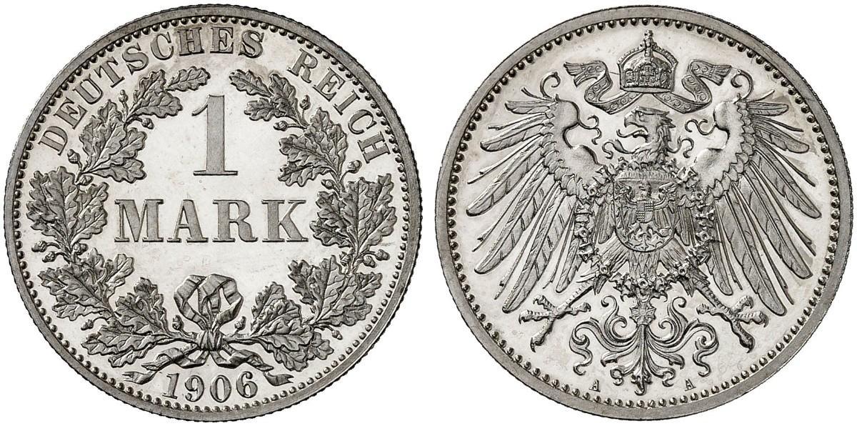 DE 1 Mark 1906 A