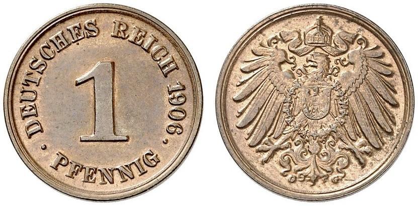 DE 1 Pfennig 1906 G