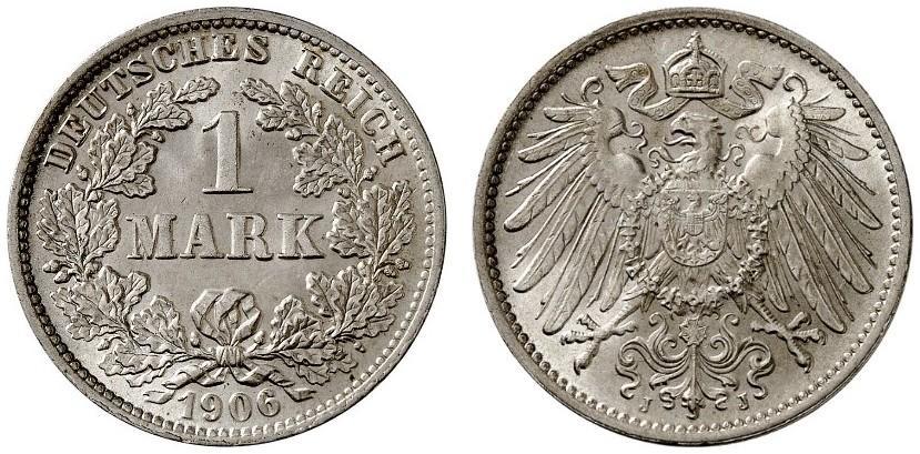 DE 1 Mark 1906 J
