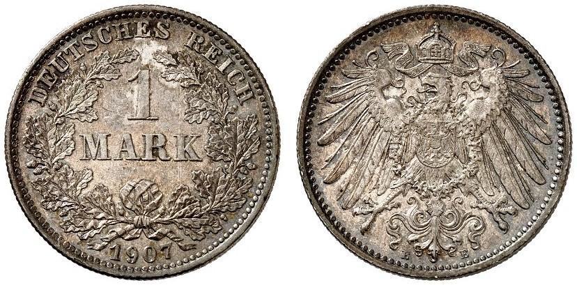DE 1 Mark 1907 E