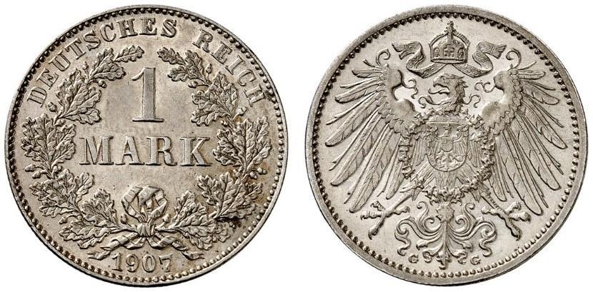 DE 1 Mark 1907 G