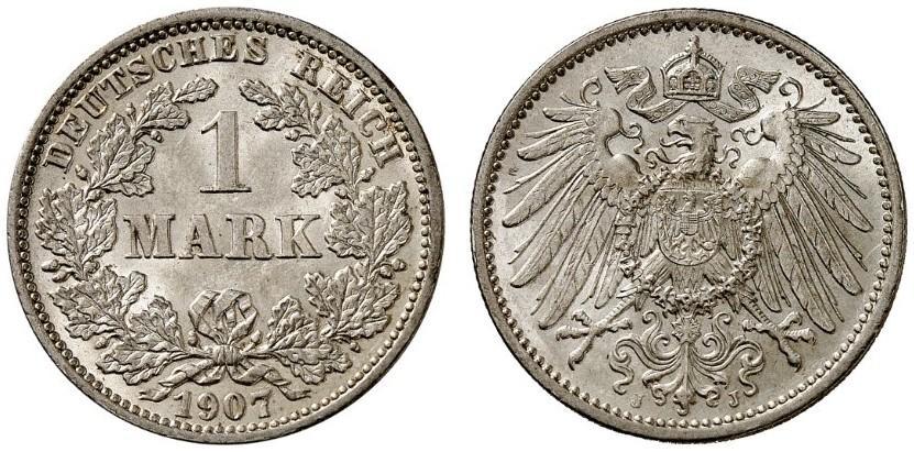 DE 1 Mark 1907 J