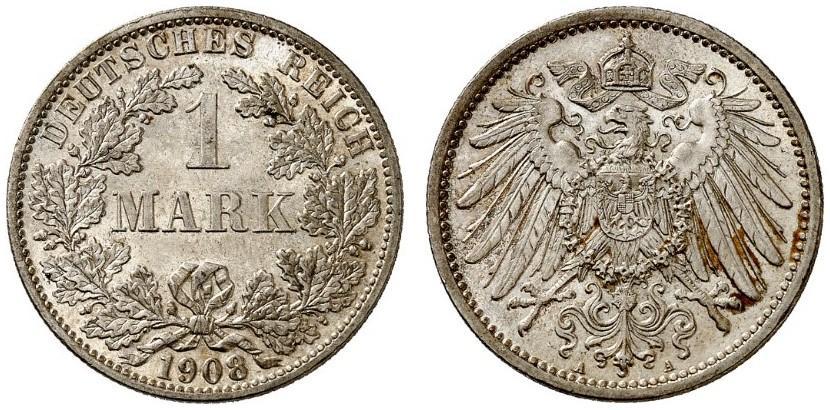 DE 1 Mark 1908 A