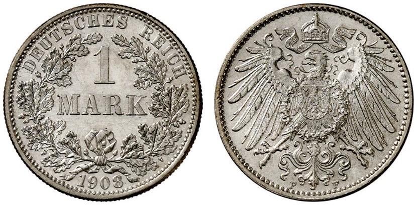 DE 1 Mark 1908 F