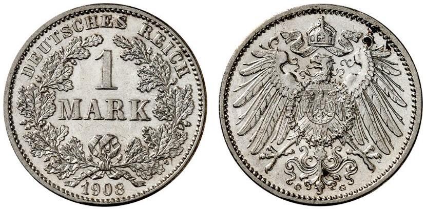 DE 1 Mark 1908 G