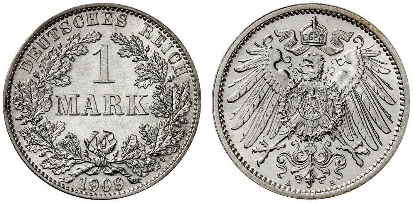 DE 1 Mark 1909 A
