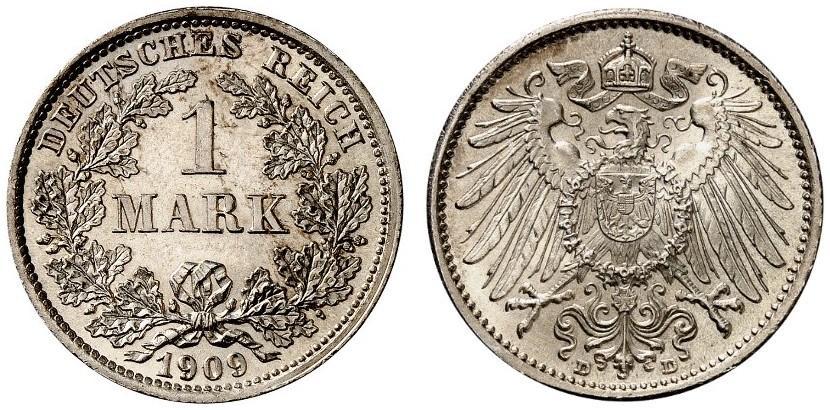 DE 1 Mark 1909 D