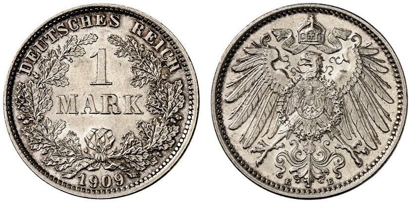 DE 1 Mark 1909 E