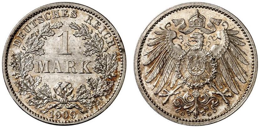 DE 1 Mark 1909 G