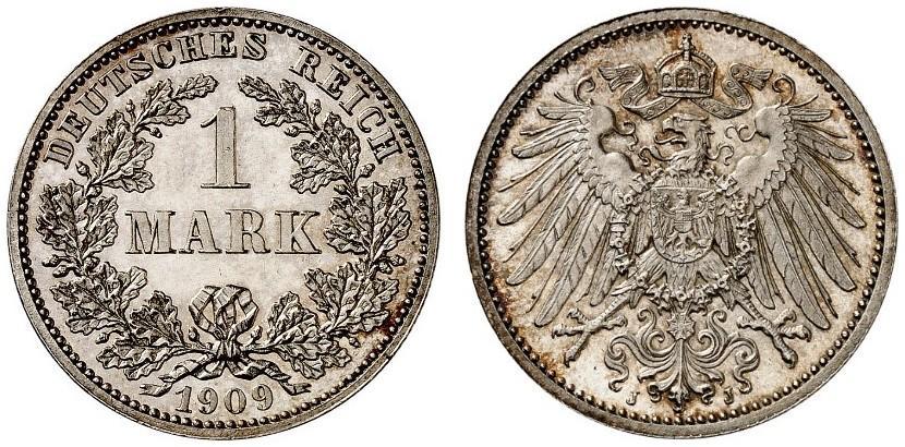 DE 1 Mark 1909 J