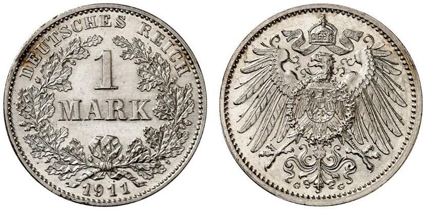 DE 1 Mark 1911 G