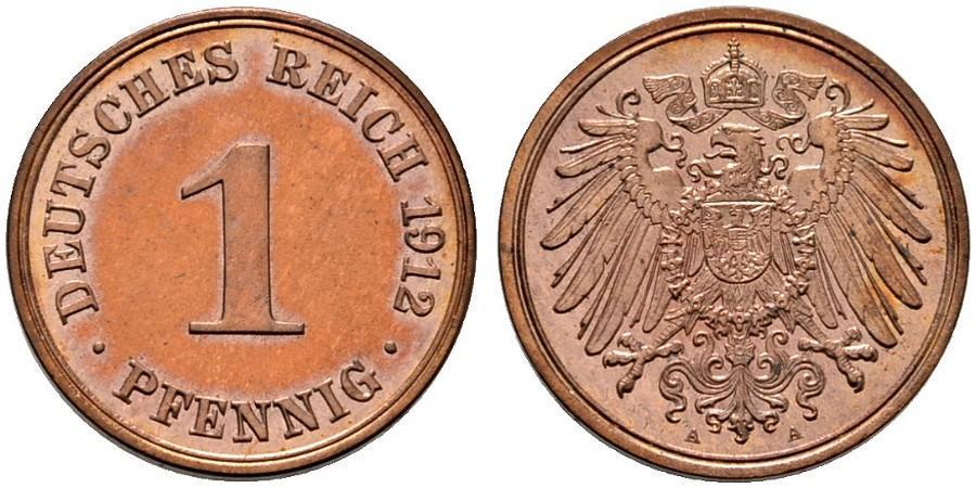 DE 1 Pfennig 1912 A