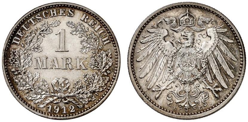 DE 1 Mark 1912 E