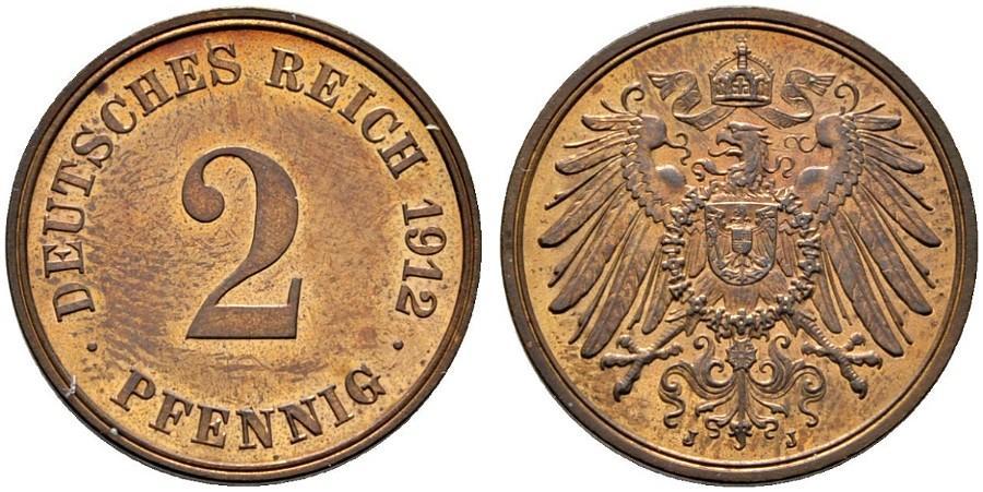 DE 2 Pfennig 1912 J
