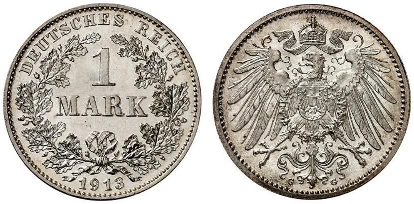 DE 1 Mark 1913 G