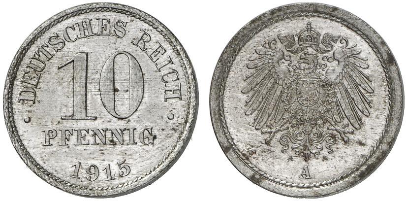 DE 10 Pfennig 1915 A
