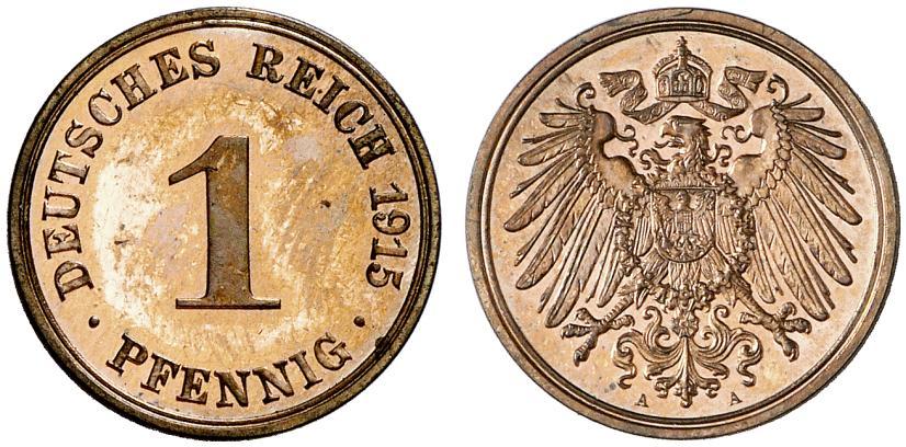 DE 1 Pfennig 1915 A