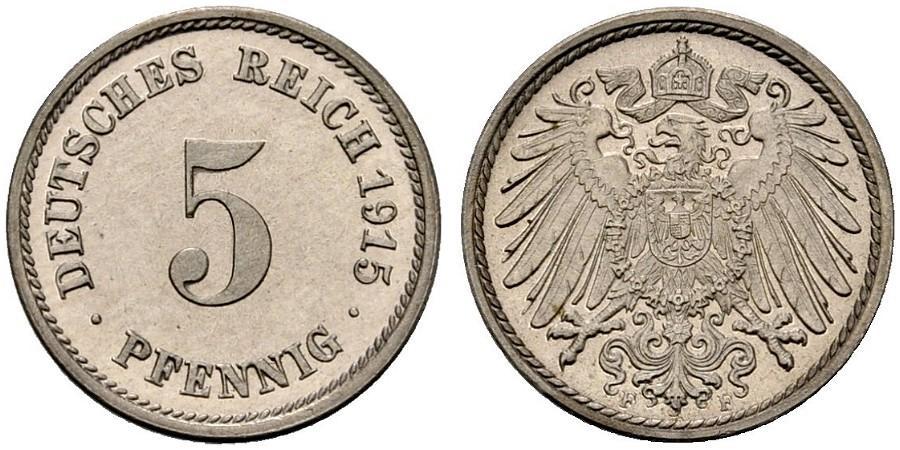 DE 5 Pfennig 1915 F
