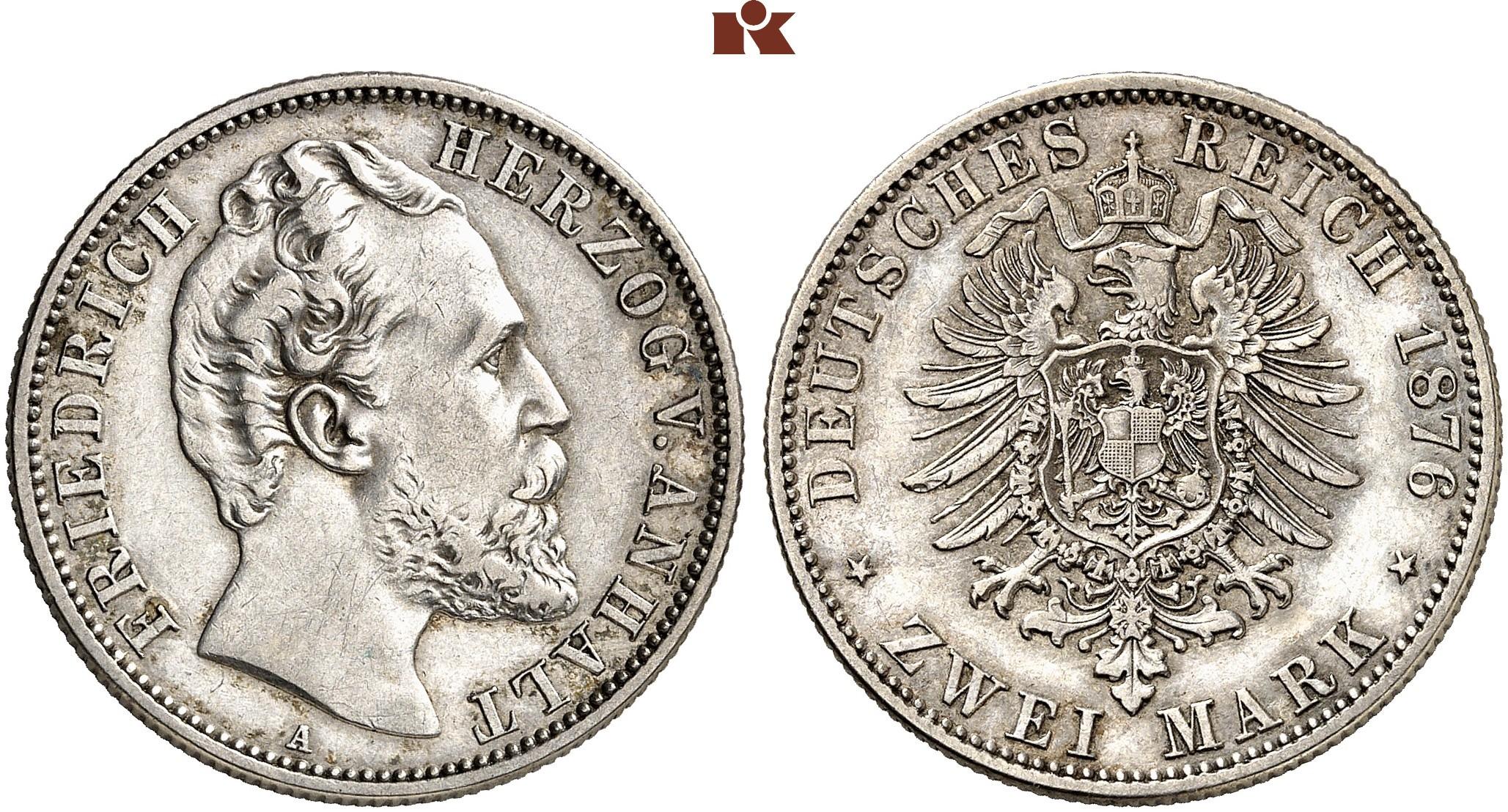 DE 2 Mark 1876 A