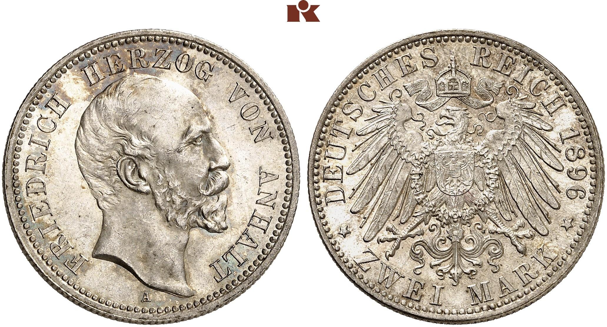 DE 2 Mark 1896 A