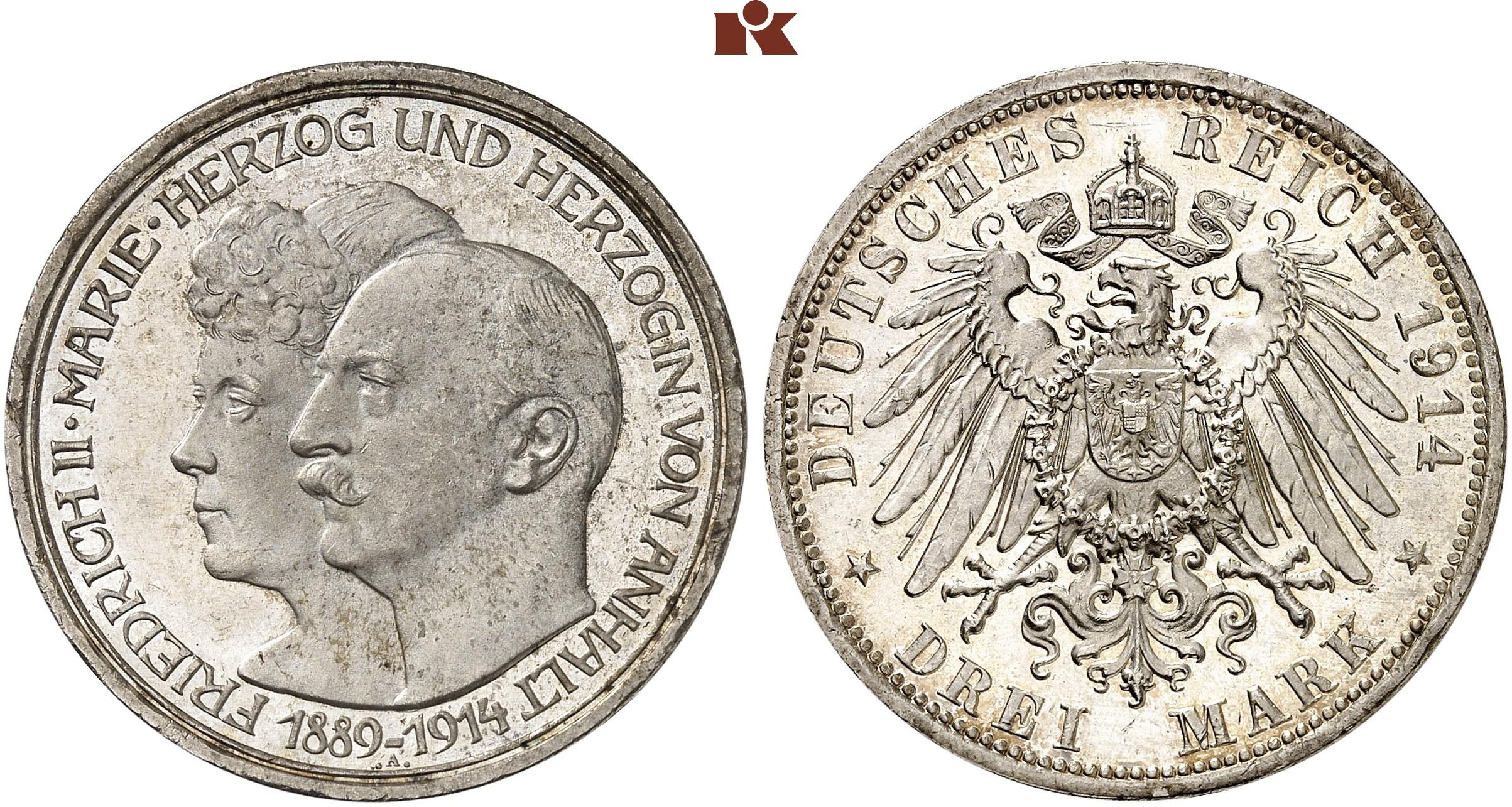 DE 3 Mark 1914 A