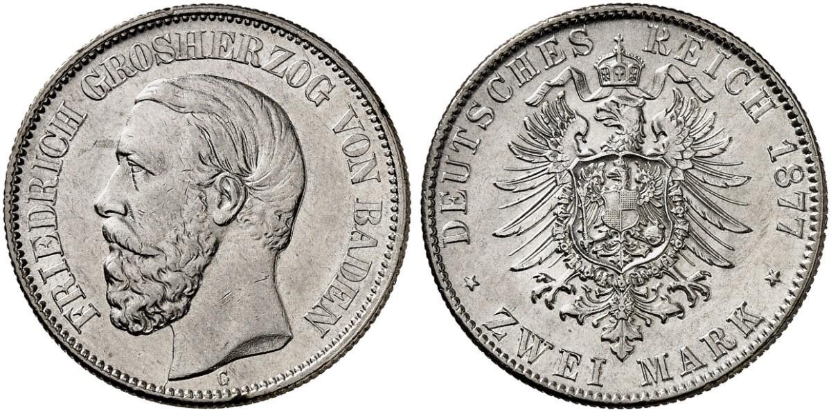 DE 2 Mark 1877 G