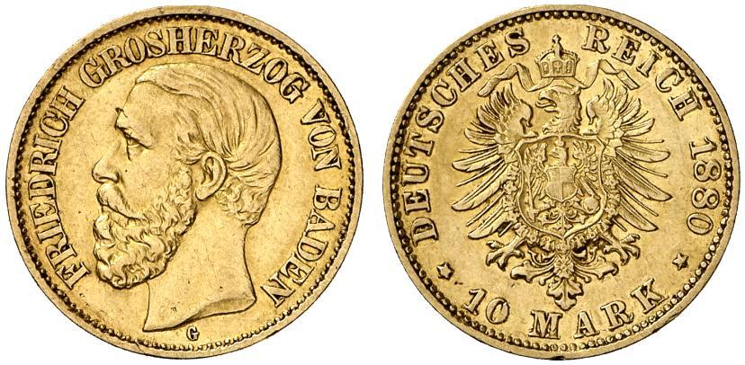 DE 10 Mark 1880 G