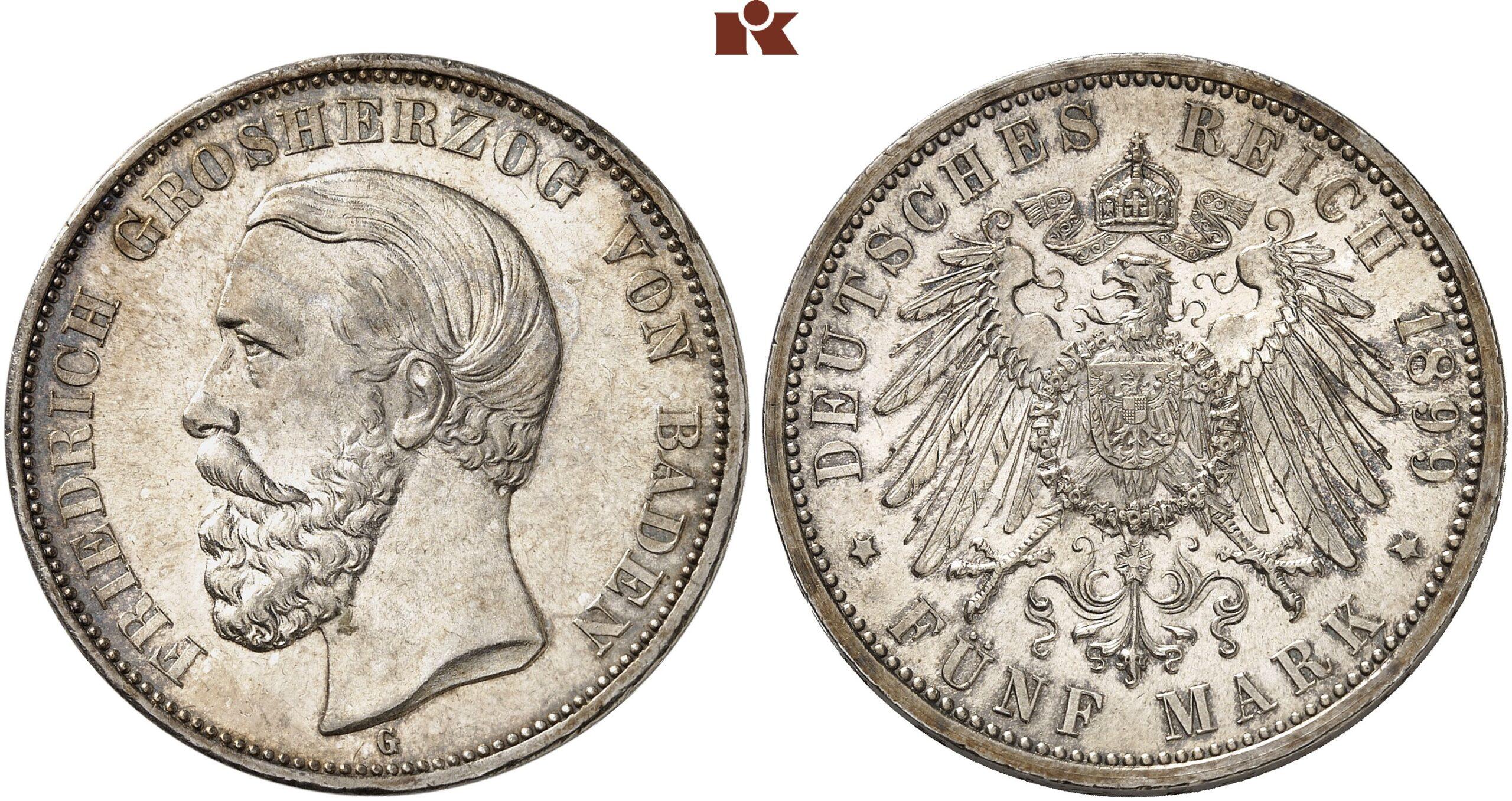 DE 5 Mark 1899 G