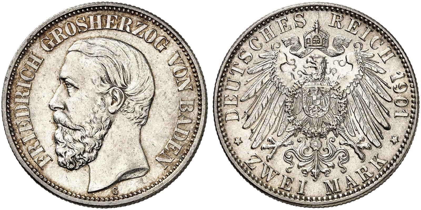 DE 2 Mark 1901 G