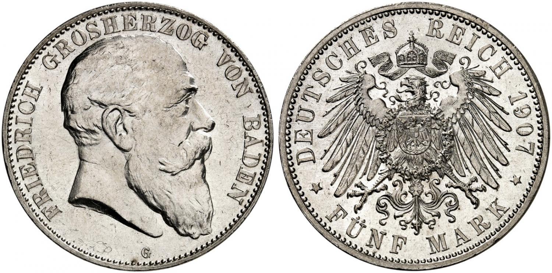 DE 5 Mark 1907 G