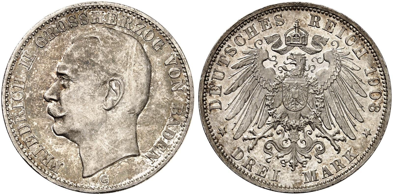 DE 3 Mark 1908 G