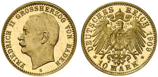 DE 10 Mark 1909 G