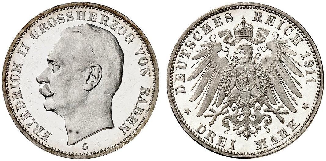 DE 3 Mark 1911 G