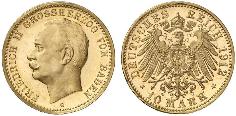 DE 10 Mark 1912 G