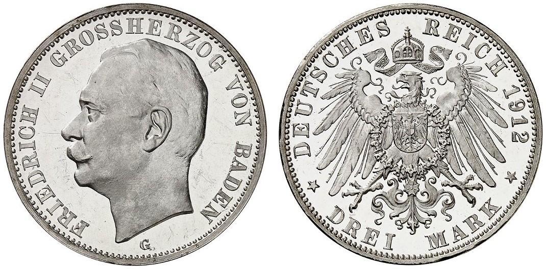 DE 3 Mark 1912 G