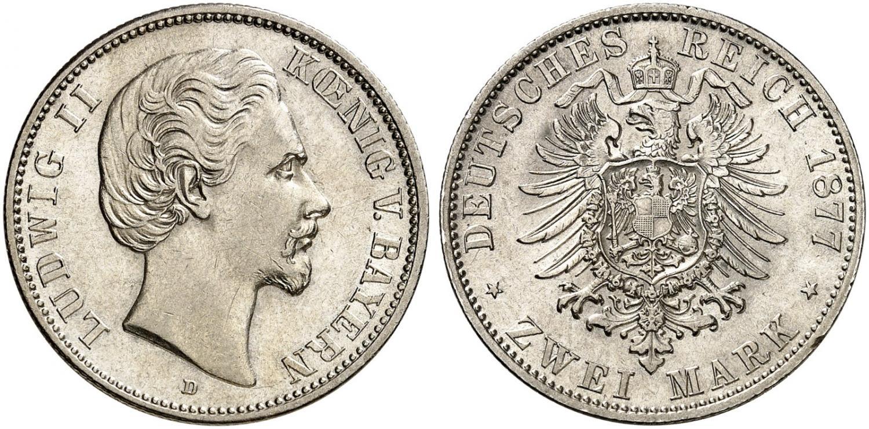 DE 2 Mark 1877 D